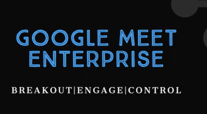 G-Suite Enterprise for EDu, Are You ready?
